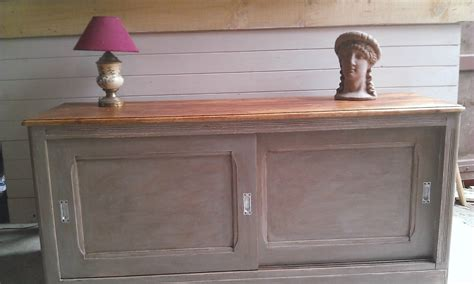 meuble bas de bureau meuble bas portes coulissantes