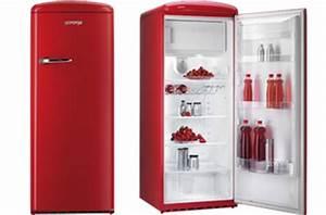 Réfrigérateur De Couleur : r frig rateur pose libre gorenje rouge vert gris et violet ~ Premium-room.com Idées de Décoration