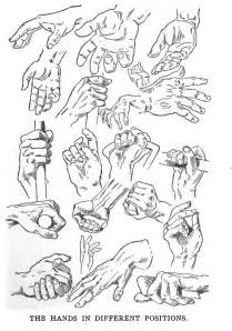 Drawing Hands Different Poses