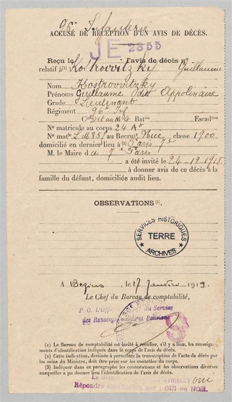 Résumé Poeme A Lou by Guillaume Apollinaire Service Historique De La D 233 Fense