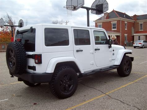 white and black jeep wrangler the gallery for gt white jeep wrangler with black rims