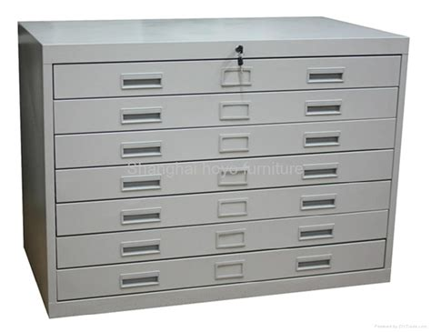 steel drawer cabinet 5 drawer blueprint map steel flat file metal cabinet hy