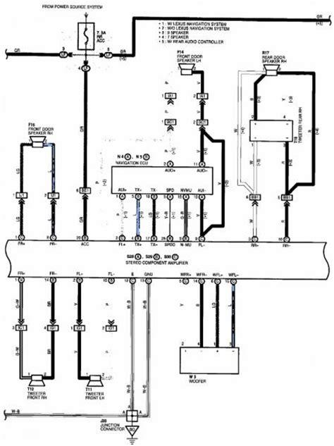 Lexu Sc400 Starter Wiring Diagram by Need Wiring Diagram From Radio Harness Club Lexus Forums