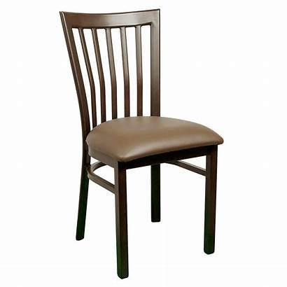 Chair Wood Chairs Metal Slat Dining Seating