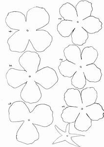 Five Petal Flower Template Free Blank Flower Template Download Free Clip Art Free