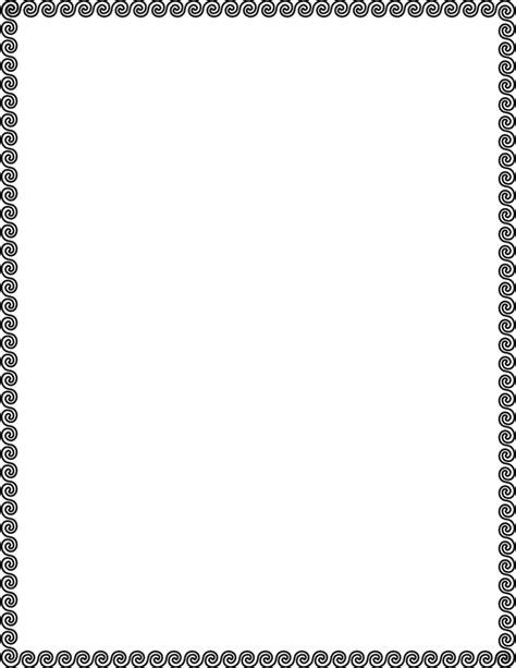 wave scroll border - /page_frames/simple_ornamental/wave