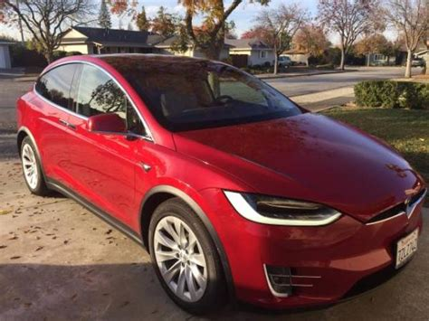 Fully Electric Cars For Sale by 2017 Tesla Model X 90d Fully Loaded Awesome 5500