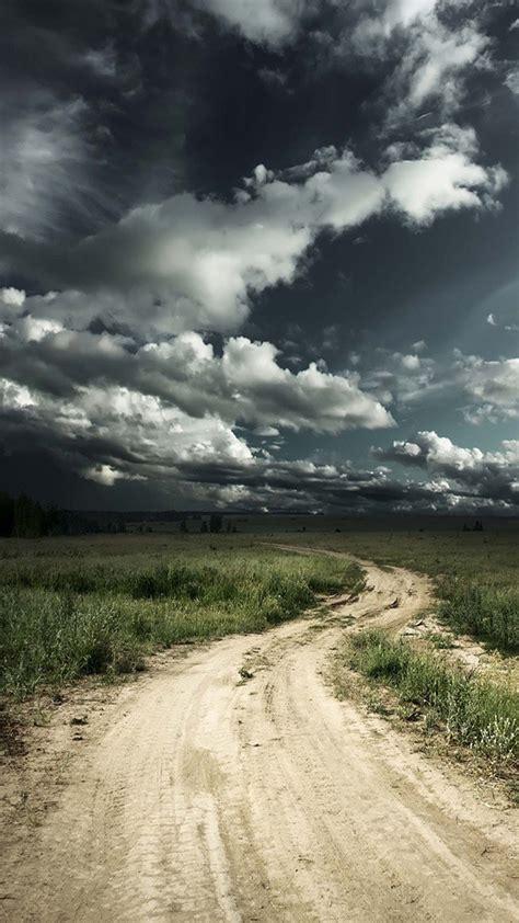 Cloudy Road Galaxy S3 Wallpaper (720x1280