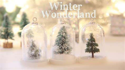 winter wonderland     water  snow globe
