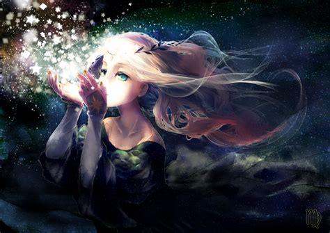 动漫少女唯美梦幻图片 动漫女生图片唯美长发 动漫女生图片唯美粉色 蓝色漫画少女图片唯美 动漫少女古装梦幻图片