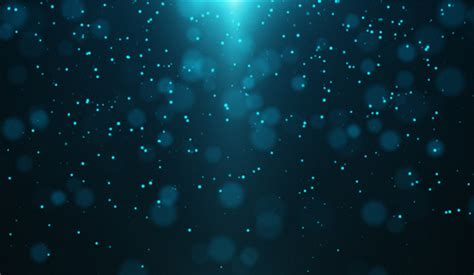 Blue Particle Background By Niomich