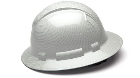 Buy Ridgeline Shiny White Graphite Safety Hard Hat