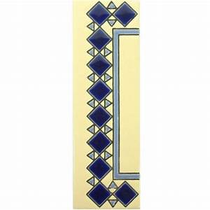 diamante azul end trim mexican tile designs With mexican tile letters