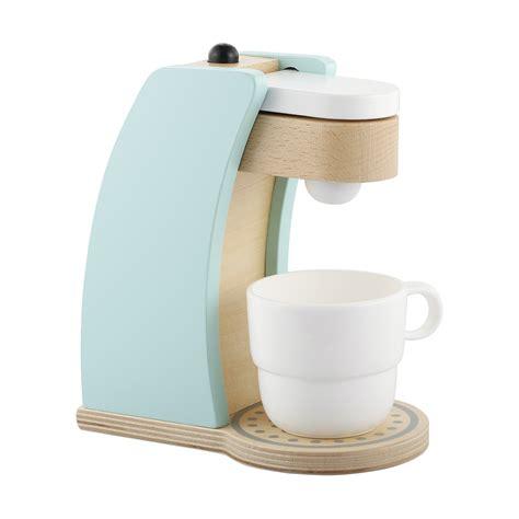 wooden toy coffee machine kmart