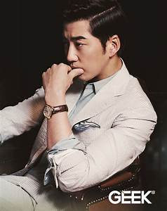 Yoon Kye Sang Looks Extremely Manly for Fashion Magazine ...