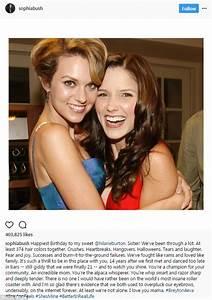 Sophia Bush wishes Hilarie Burton a happy birthday | Daily ...