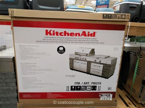 Kitchenaid Island Grill by Kitchen Aid 7 Burner Outdoor Island Gas Grill