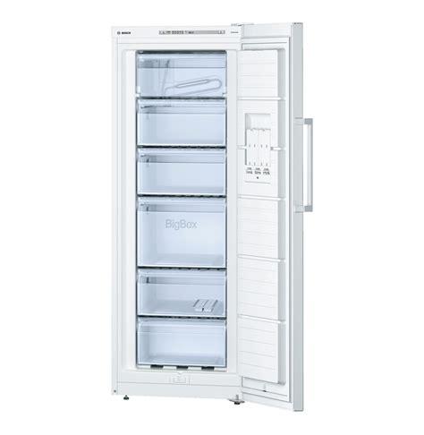 bosch 217l upright freezer white lowest prices