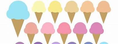Ice Cream Clipart Cone Cones Clipartmag Colors