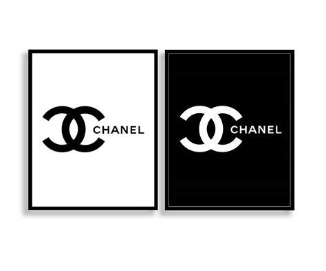 Chanel Logo Print Set Coco Chanel Logo Print Set Chanel Logo