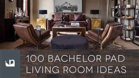 bachelor pad living room ideas  men youtube