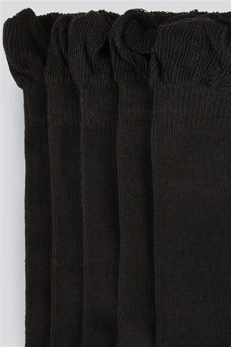 Black Pair Pack Socks Extra Wide Fit Size