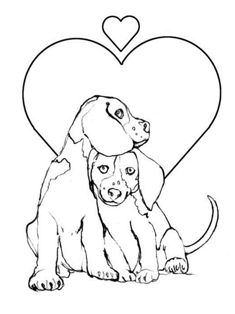 Beagle Kleurplaat by Page Beagles Coloring Pages Printable Beagles