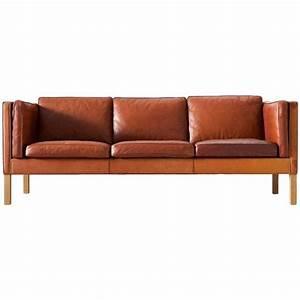 Sofa In Cognac : b rge mogensen 2443 sofa in cognac brown leather brown leather modern and office designs ~ Indierocktalk.com Haus und Dekorationen