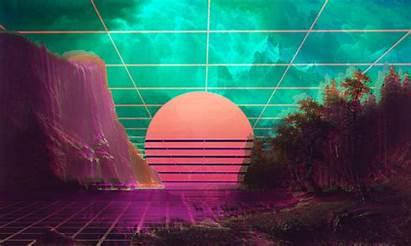 Vaporwave 4k Desktop Wave Wallpapers Artist Retro
