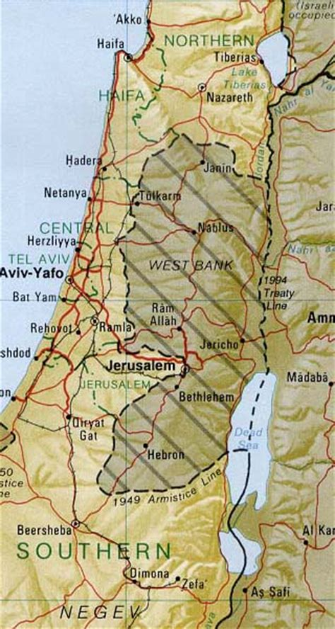 israel maps including outline  topographical maps