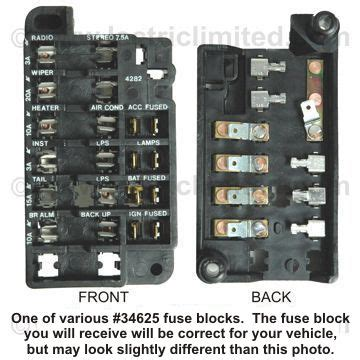 67 Chevy Fuse Box by Camaro Fuse Block Repair Kit 1967