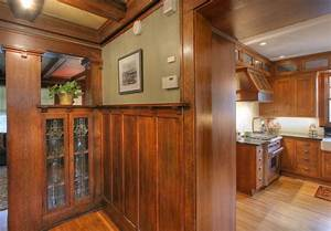 craftsman kitchen craftsman kitchen minneapolis by With kitchen cabinets lowes with mission style wall art