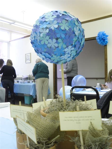 centerpieces for baby shower boy baby boy shower centerpieces babies and brides pinterest