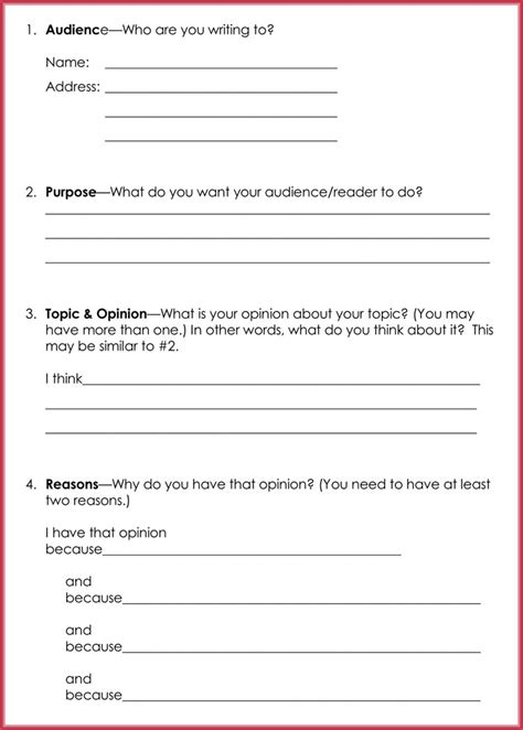 persuasive letter template samples formats  word