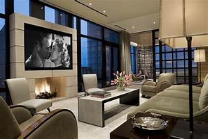 Cool ideas for mounting a TV over a fireplace in the