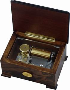 Edelweiss Music Box, Hand Crafted Wood Music Boxes from N