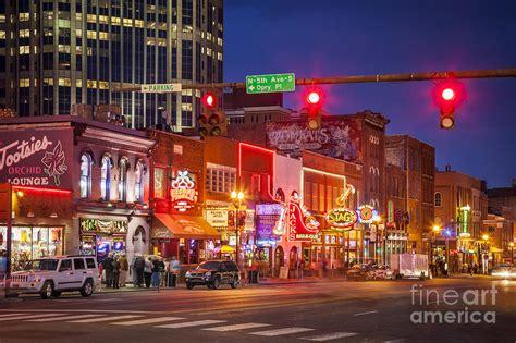 Broadway Street Nashville Photograph by Brian Jannsen