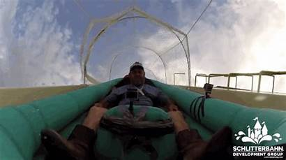 Water Slide Tallest Slides Park Test Down