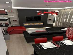 26 black sofa living room best 20 dark leather couches With red and black furniture for living room