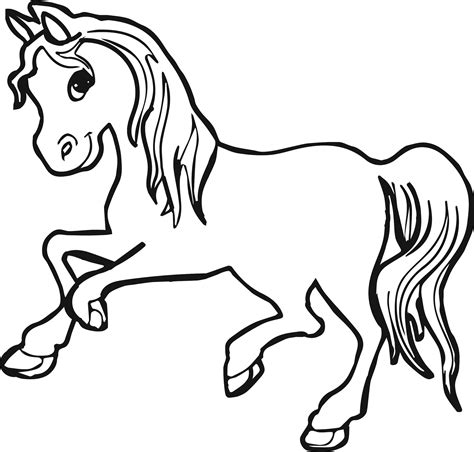 Coloring Horses Pages by Horses Coloring Pages Coloringsuite
