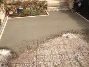 terrasse beton coule nos conseils