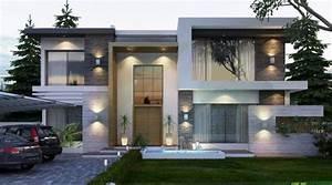 Moderne Design Villa : elegant modern villa design 2 fachadas pinterest modern villa design villa design and villas ~ Sanjose-hotels-ca.com Haus und Dekorationen