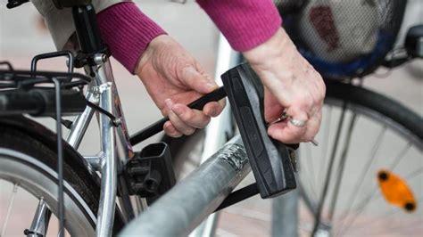 stiftung warentest sichere fahrradschloesser sind schwer