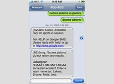 Google Quietly Kills SMS Search, Closing One Way Of