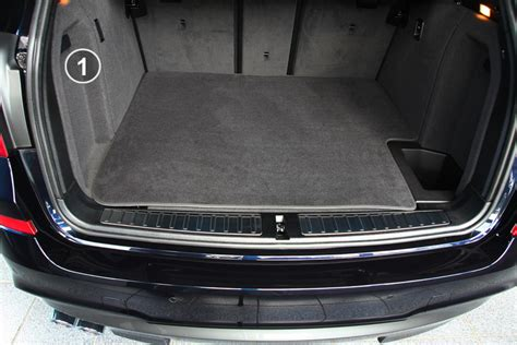 Home Interior Sales - 3 part trunk mat with bumper protection fits for bmw x3 f25 x4 f26 series boot mats for bmw