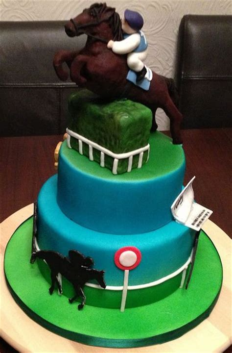 horse racing cake cake pinterest