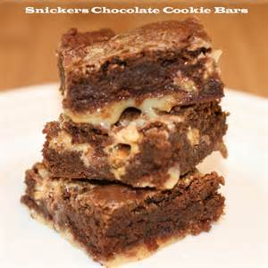 Snickers Chocolate Bar Cookie Recipe