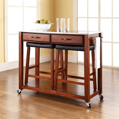 stools for kitchen island kitchen island cart with stools