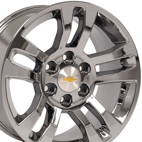 chrome jeep accessories chevrolet silverado pvd chrome wheel