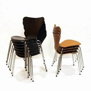 Stuhl Arne Jacobsen : 3107 stuhl von arne jacobsen noch 3 schwarze m bel ~ Michelbontemps.com Haus und Dekorationen